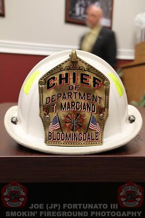 In-Service Bloomingdale FD Swearing in 01-01-2017