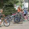 A good indicator of Spring<br /> One way we can tell spring is here when the bike rack in front of Agassiz Elementary School starts filling up again like it did on Tuesday. For today, the National Weather Service is calling for a windy 60 degrees.