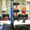 Two wrestlers square off in the ring under the watchful eye of TNA producer Pat Kenney, formerly known as Simon Diamond. Whether or not Gut Check hopefuls earn a shot at a contract, the seven in Ottumwa will hopefully have learned something Saturday, Kenney said.