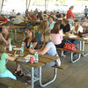 The Ottumwa Teachers' Association welcomes educators to a new year Friday at Ottumaw Park.