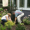 Mark Newman/The Courier<br /> David and Liz Klanderman put lots of hard but enjoyable work into their garden.