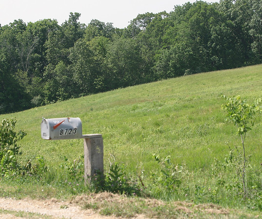 The rural area around Fox Hills Road.