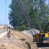 Work continues to progress Tuesday on the bridge to Blackhawk Road off of Highway 34 and North Quincy Avenue.<br /> Mark