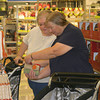 Ellen Birch, left, and Beverly Dickinson, both of Oskaloosa, spent their morning shopping at the grand opening of Kohl's department store in Ottumwa. Community leaders say they believe the new store will benefit the community in multiple ways.<br /> Mark Newman/The Courier