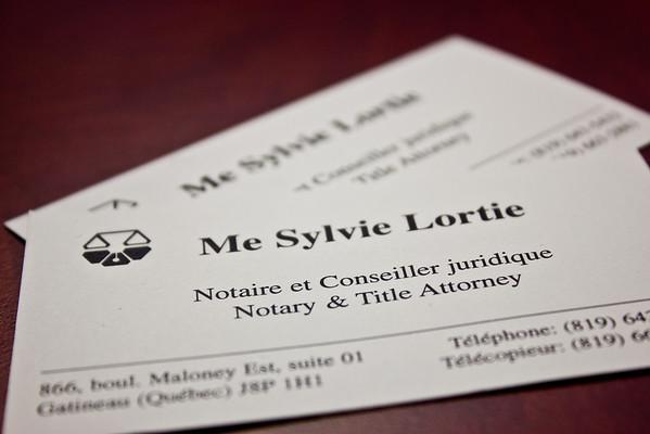 Sylvie Lortie Notaire 2014