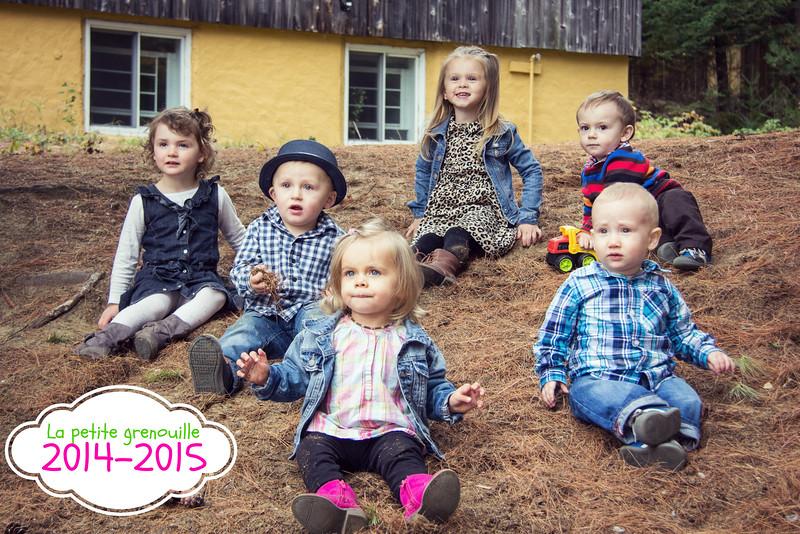 Garderie la petite Grenouille 2014