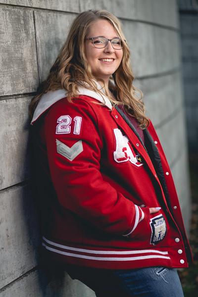 Senior photos of Brieanna Shifferly on Saturday, Oct. 24, 2020. (Photo/Alex Kumar)