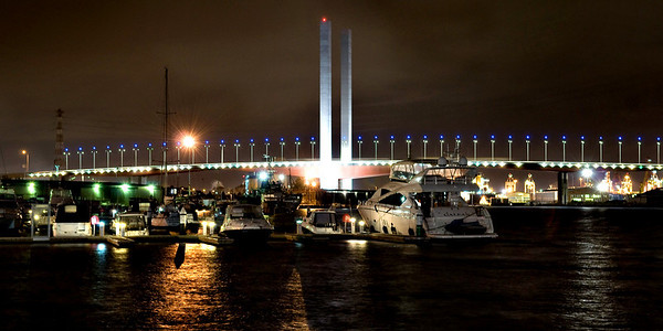 Bolte Bridge. Docklands, Melbourne.