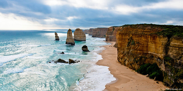At the 12 Apostles, Great Ocean Road. Victoria