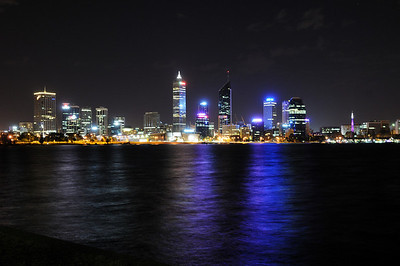On a very windy night in South Perth
