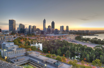 Perth Sunrise from Kings Park
