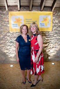 l-r Margaret Laidlaw & Morag MacNeil atended the 2018 ladies lunch for Marie Curie)  PHOTO BY JOHN PAUL PEEBLES OF ABRIGHTSIDE PHOTOGRAPHY