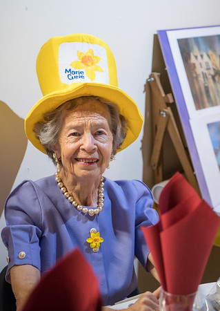Mrs Fay Fife at the 2018 ladies lunch for Marie Curie)  PHOTO BY JOHN PAUL PEEBLES OF ABRIGHTSIDE PHOTOGRAPHY