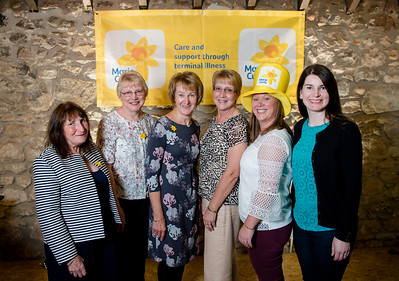 l-r Friends and family group Anne Davies, Margaret Clark, Kathleen Sutherland, Mary Michie, Mairi Davies and Joan Marie Sutherlandhad a great time at the the 2018 ladies lunch for Marie Curie)  PHOTO BY JOHN PAUL PEEBLES OF ABRIGHTSIDE