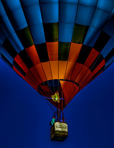 Balloon At Sunrise Mike Packman 2