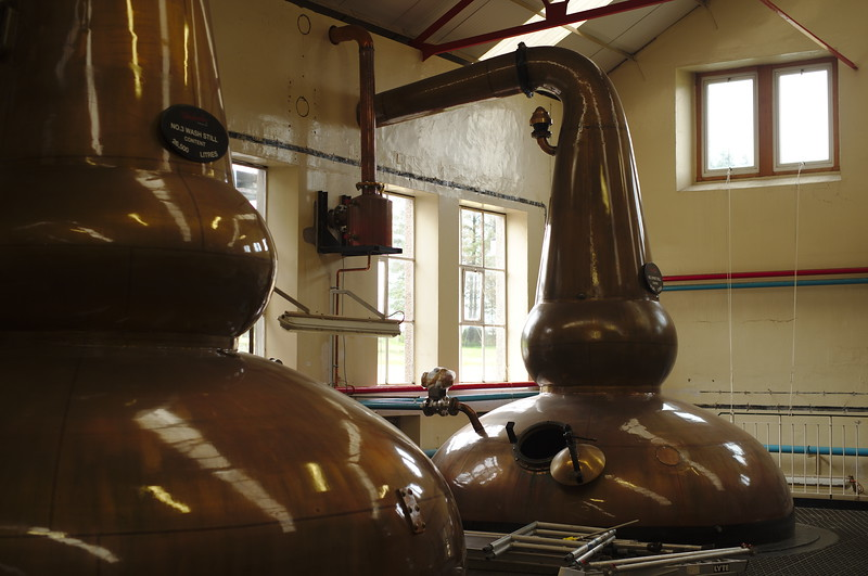 Pot Still at Glenfarclas distillery