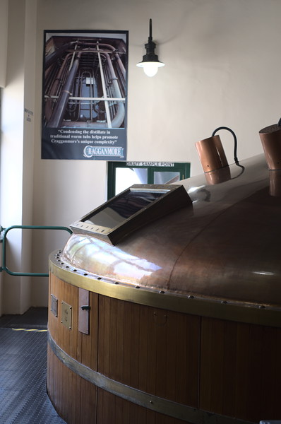 Mash Tun at Cragganmore Distilery