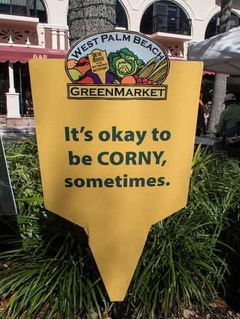 West Palm Beach - Green Market -  2/1/2014