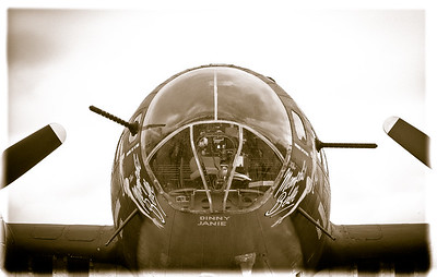 Nose Gunner - Photography by Wayne Heim