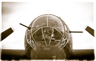 Nose Gunner - Photography by Wayne Heim