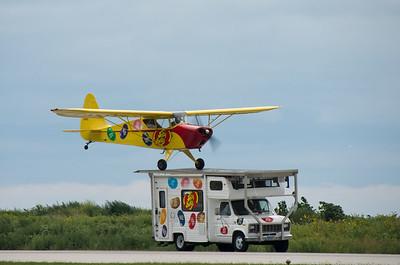 Motor Home Landing - Photography by Wayne Heim