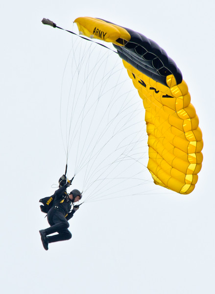 Army Paratrooper    Photography by Wayne Heim