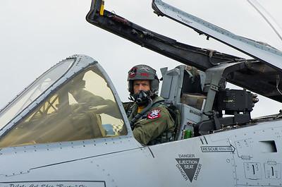 A 10 Thunderbolt Pilot     photography by Wayne Heim
