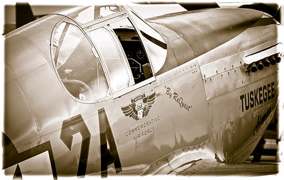 Tuskegee Cockpit - Photography by Wayne Heim