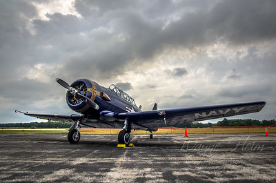 Navy Fighter    Photography by Wayne Heim