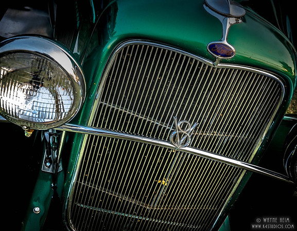Ford V8    Photography by Wayne Heim