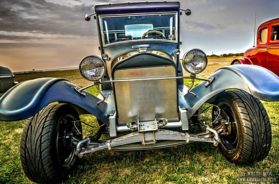Front of Restored Ford   Photography by Wayne Heim