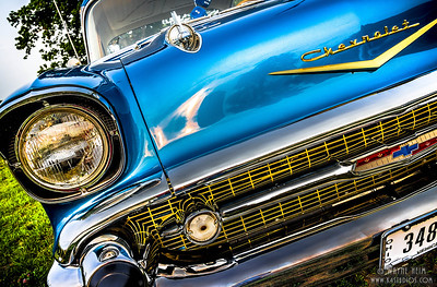 Chevy Headlight.   Photography by Wayne Heim