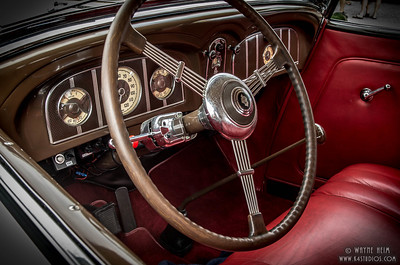Red Interior   Photography by Wayne Heim
