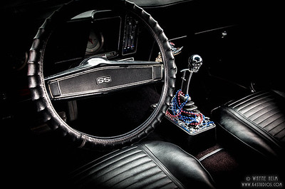 Driver's Seat - Photography by Wayne Heim