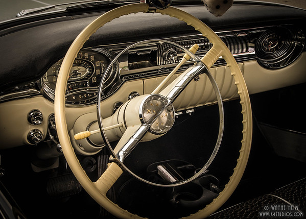Steering Wheel  Photography by Wayne Heim