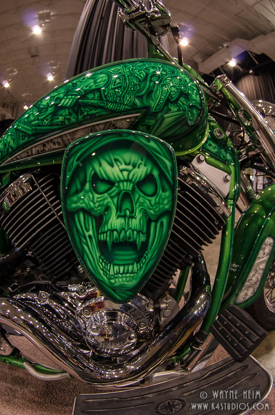 Skull Motorcycle   Photography by Wayne Heim