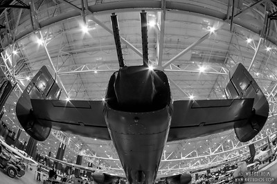 Tail Guns   Black and White Photography by Wayne Heim