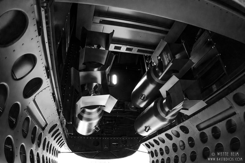 Bomb Bay --Black & White Photography by Wayne Heim