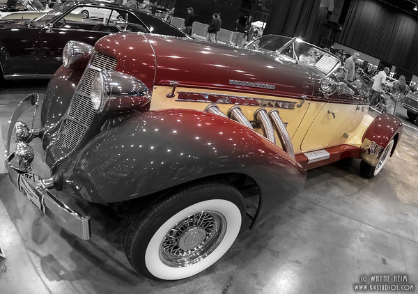 Red Roadster    Photography by Wayne Heim