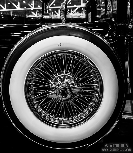 Spare Tire    Black & White Photography by Wayne Heim