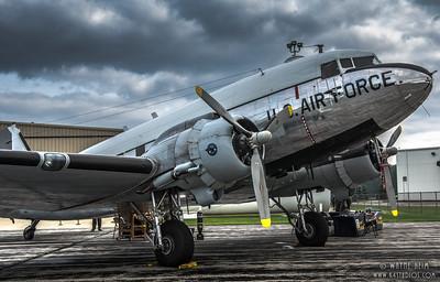 Air Force Plane   Photography by Wayne Heim