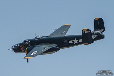 Bomber Flight   Photography by Wayne Heim