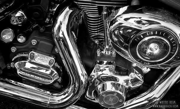 Chrome -  Black & White Photography by Wayne Heim