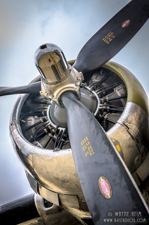 Propeller of B52   Photogra[phy by Wayne Heim