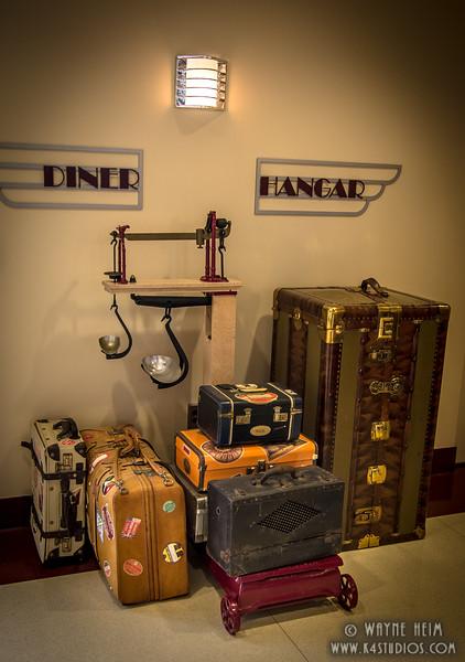 Luggage Display   Photography by Wayne Heim