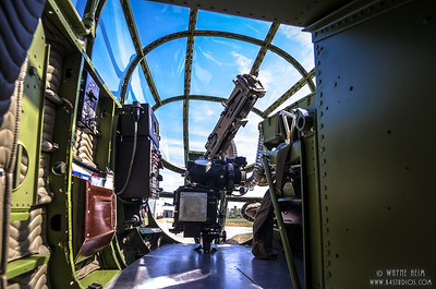 Inside Gun Turret   Photography by Wayne Heim