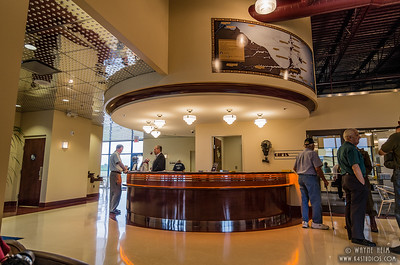 Liberty Museum Lobby    Photography by Wayne Heim