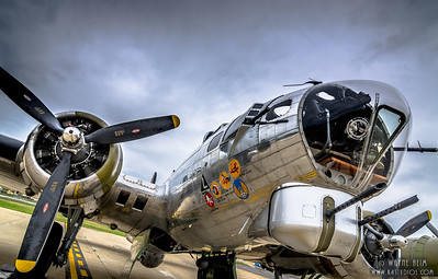 WW II Bomber  Photography by Wayne Heim