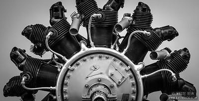 Motor Part    Black & White Photography by Wayne Heim