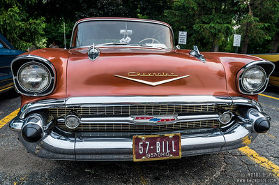 Front of '57 Chevy   Photography by Wayne Heim